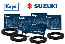 Suzuki GSXR1000 2001-2009 Complete Front & Rear Wheel bearing kit Genuine KOYO