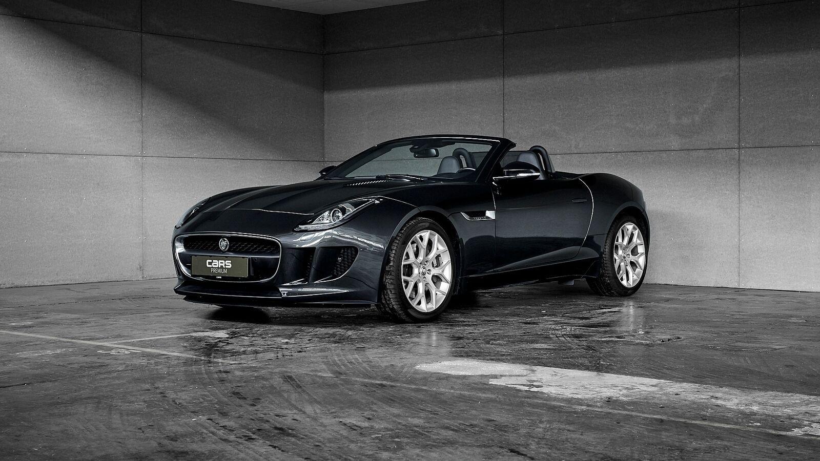 Jaguar F-Type 3,0 S/C Convertible aut. 2d - 4.595 kr.