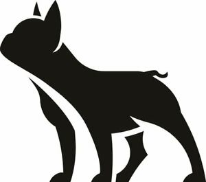french bulldog Sticker Car van wall door window decal vinyl silhouette Dog breed