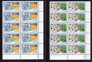 10-x-Bund-1127-1128-FN-Eckrand-Block-postfrisch-mit-Formnummer-2-FN-Ecke-4