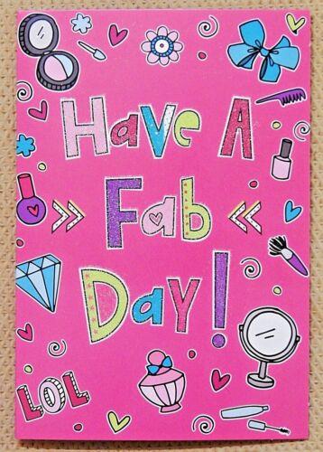 6 PACK OF CHILDRENS GIRLS KIDS BIRTHDAY CARDS FEMALE CHILDS BIRTHDAY CARDS //CG1