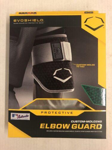 New EvoShield EvoCharge Batter/'s Elbow Guard Custom Molding Green Adult
