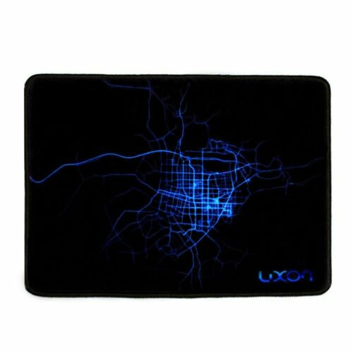 "LUXON brand Gaming Mouse Pad 10 x 8 /"" BLACK PACK OF 2"