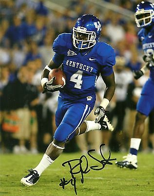 Raymond Sanders Hand Signed Kentucky Wildcats 8x10 Photo W/coa College-ncaa Photos