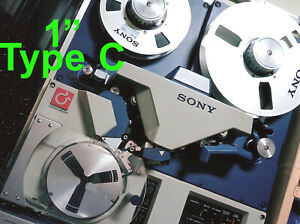 1-034-One-Inch-Type-C-to-DVD-VTR-Video-Tape-Reel-Digitizing-Transfer-Sony-Ampex-3M