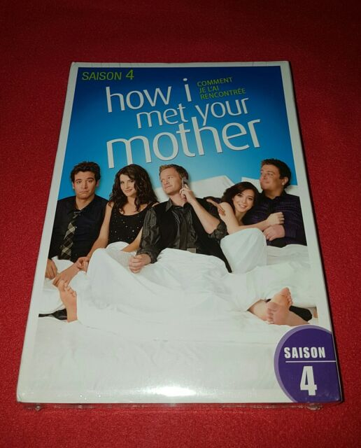 Coffret DVD How I Met Your Mother Saison 4