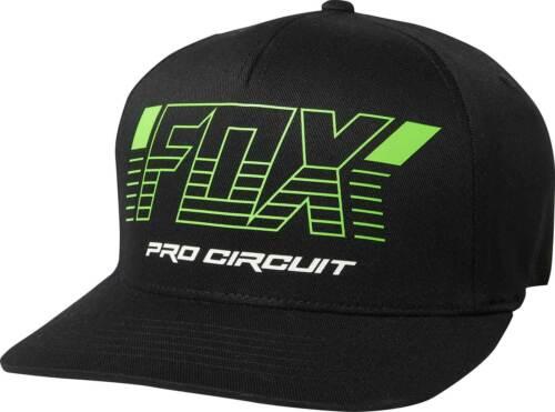 Fox Racing Pro Circuit Flexfit Hat-Homme Couvercle Cap Curved Bill MX MTB Motocross