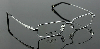 100% Pure Titanium Spectacles Men Glasses Optical Classic Eyeglass Frame Rx 9867