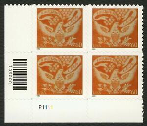 #3646 60c Colcha Águila, Placa Bloque [P1111 Ll ], Nuevo Cualquier 5=