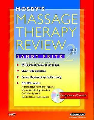 Mosby's Massage Therapy Review by Sandy Fritz