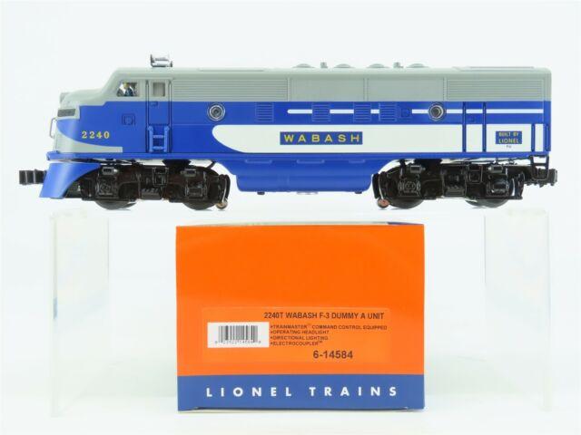O Gauge 3-Rail Lionel 6-14584 WAB Wabash F3A Dummy Diesel Loco #2240 w/Lights