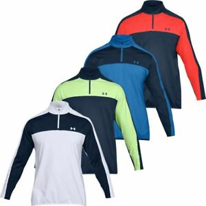 Under-Armour-EU-Midlayer-1-4-Zip-Hydrofuge-Hommes-Golf-Pull-Pullover