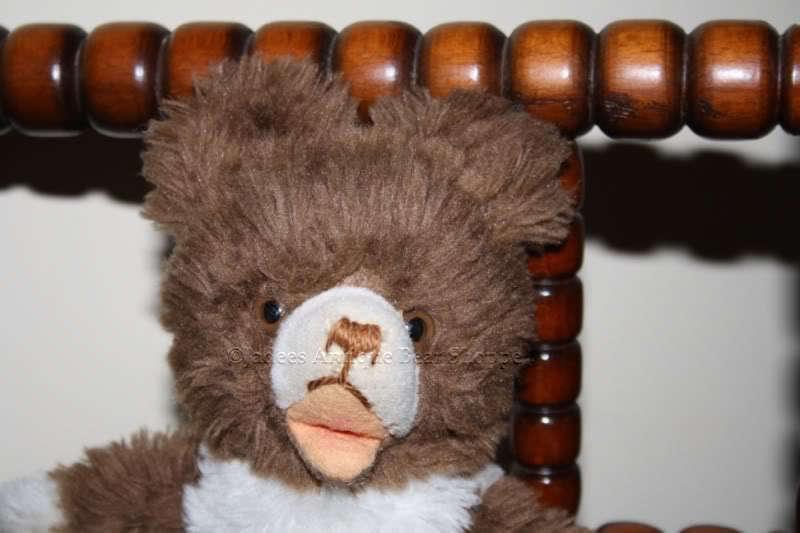 Hermann Soft Standing Zotty Bear Dralon 60s 60s 60s Squeaker 6914ef