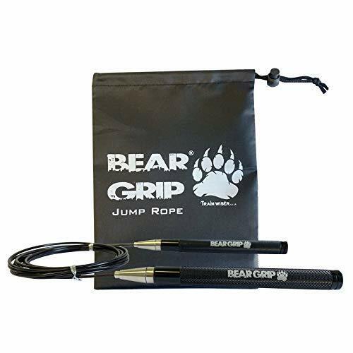 Bear Grip-Elite Vitesse Corde à sauter pour fitness climatisation et perte de graisse.