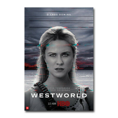 New Westworld Season 2 TV Series Art Silk Poster 13x20 32x48 inch