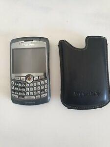 BlackBerry  Curve 8310 - Anthrazit  (Ohne Simlock) Smartphone incl. Ledertasche