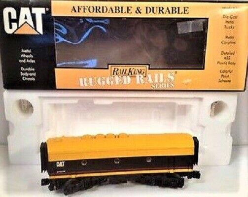 Conjunto de 2 MTH 33-20094 Motor Diesel Caterpillar F3 sin alimentación b-unidades 027-O Sin Usar, En Caja