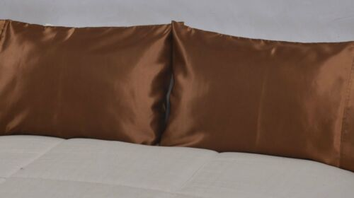Set of 2  Super Strong and Durable Pillow Case Body Pillow Covers Pillowcase