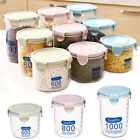 Kitchen Storage Box Sealing Food Preservation Plastic Fresh Pot Container S-L