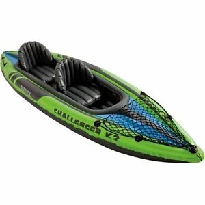 Intex Challenger K2 Kayak 2 Person Inflatable Set