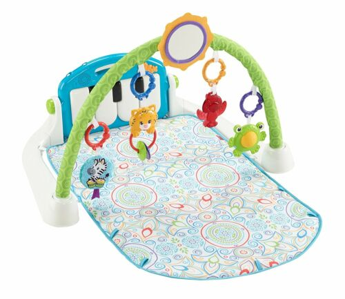 White Fisher-Price First Steps Kick and Play Piano Gym PLEASE READ DETAILS
