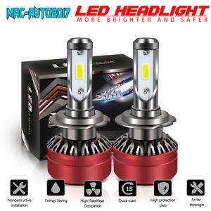 TURBO-H7-COB-LED-Headlight-Bulbs-for-Mercedes-Benz-B200-C230-C240-C250-C300