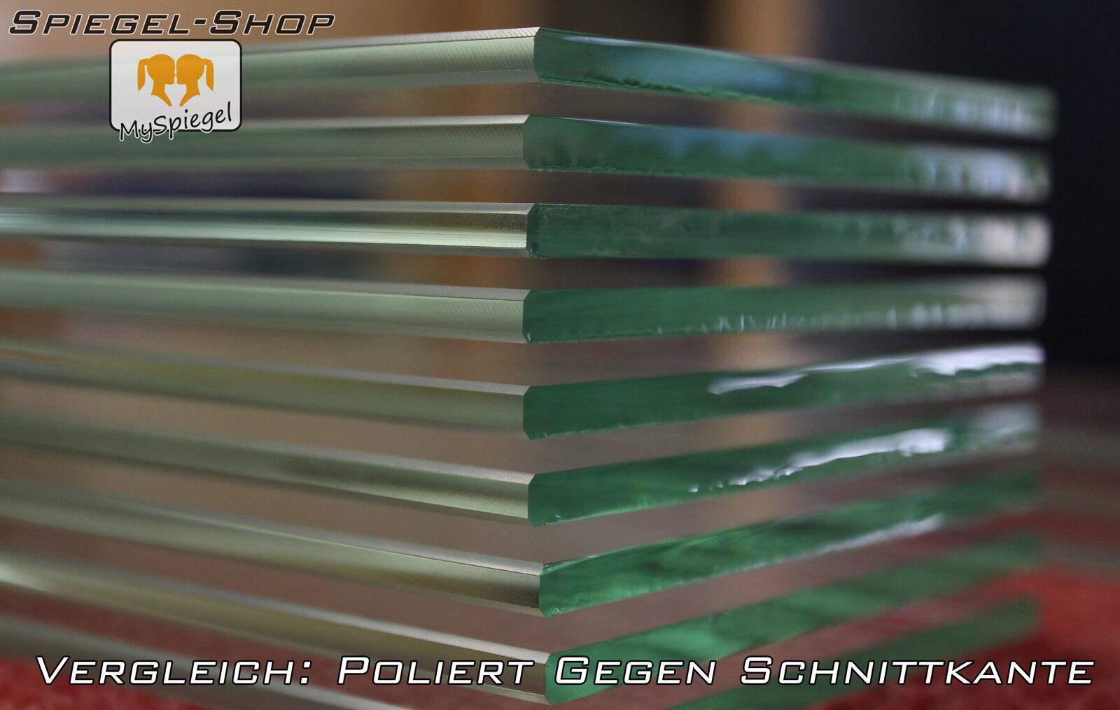Glasplatte Glas Satinato 10mm 10mm 10mm Glasscheiben