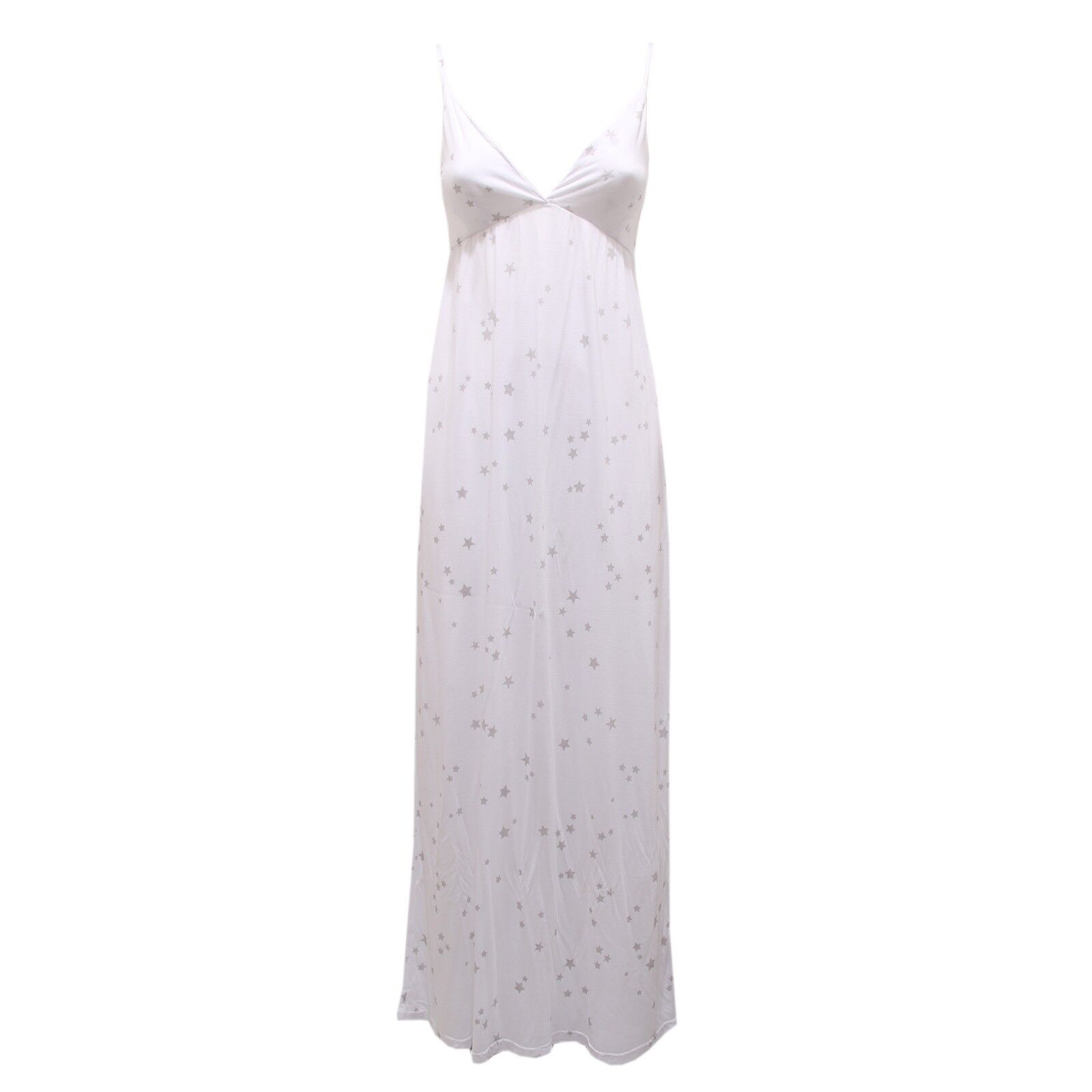 8258S 8258S 8258S abito SUN 68 bianco Silber smanicato dress sleeveless woman c110d2