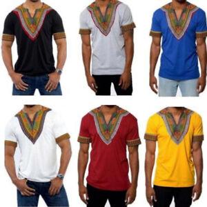 2017-Mens-African-Clothing-Dashiki-Style-Cotton-Printing-Tops-Man-T-Shirt