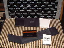 BENTLEY COLLECTION 2014/15 LIMITED EDITION MEN'S BLACK CREDIT/BUSINESS CARD CASE
