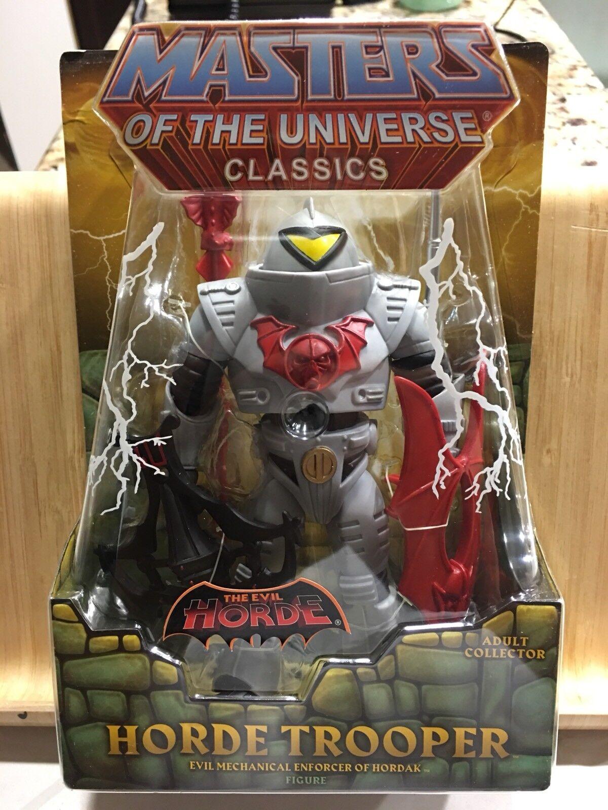 Masters of the Universe Evil Horde Trooper Enforcer Classics MOTUC Heman SheRa