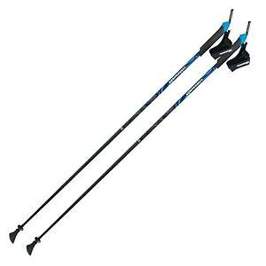 KOMPERDELL-CARBON-Nordic-Walking-Balance-Stoecke-Click-in-System-105-130-cm-NEU