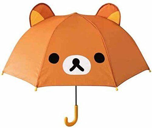 New Rilakkuma Portable Folding Umbrella Kids Children San-X