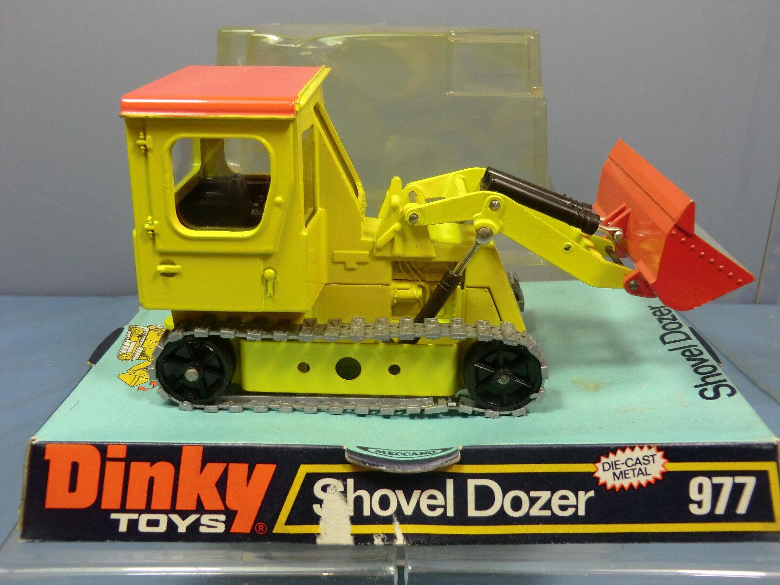 DINKY toy's Toys No.977  pala apripista  VN Nuovo di zecca con scatola