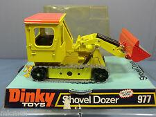 """DINKY TOY'S TOYS No.977    """"SHOVEL DOZER""""   VN MIB"""