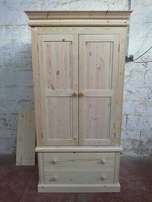 Pine Furniture Direct Victorian Gents 2, Bare Pine Furniture