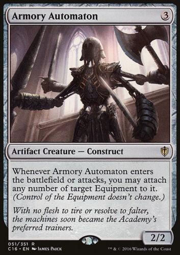 MTG Magic - NM//M Commander 2016 R Armory Automaton