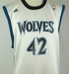 best website 2b36e ea657 Details about Kevin Love - MN Timberwolves Men's Extra Large XL Adidas NBA  White Jersey
