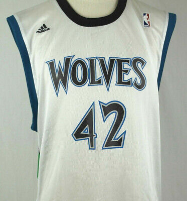 separation shoes 8ac2e 2517f Kevin Love - MN Timberwolves Men's Extra Large XL Adidas NBA White Jersey |  eBay