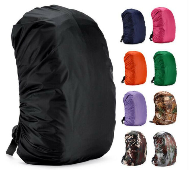 Jepeak 35L Nylon Waterproof Backpack Rain COVER Rucksack Water Resist Cover