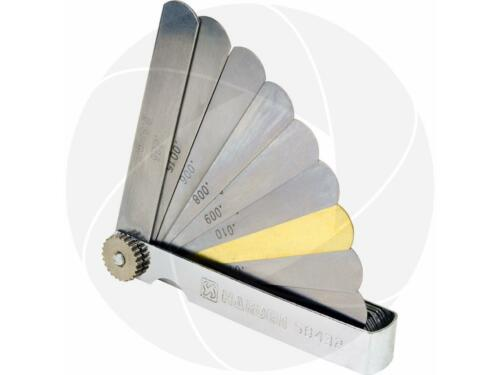 32Pcs 0.04-0.88mm Blade Gap Feeler Gauge Metric SAE Dual Reading Valve Clearance