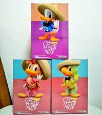 Disney Fluffy Puffy The Three Caballeros Figure set Donald Jose Carioca Panchito
