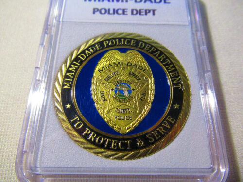 Challenge Coin MIAMI-DADE Police Dept
