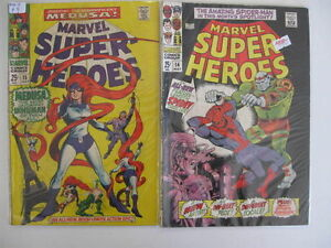 MARVEL-SUPER-HEROES-14-31-LOT-14-Books-Guide-142