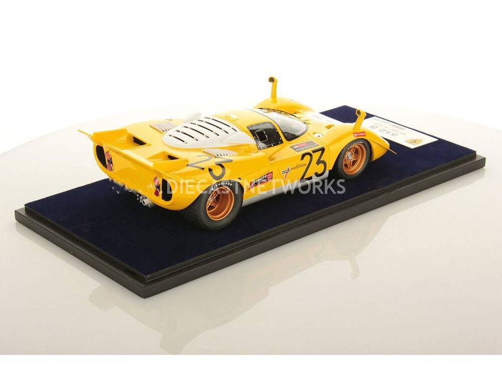 auténtico LookSmart Ferrari 512 S 1000 km km km de Spa 1970 Ecurie hasta  23 1 18  nuevo   comprar mejor