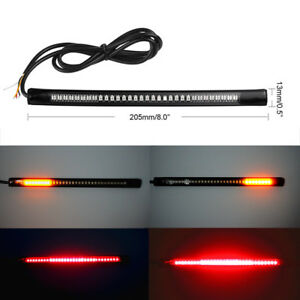 Motorcycle 48 led strip running integrated brake stop turn signal image is loading motorcycle 48 led strip running integrated brake stop aloadofball Images
