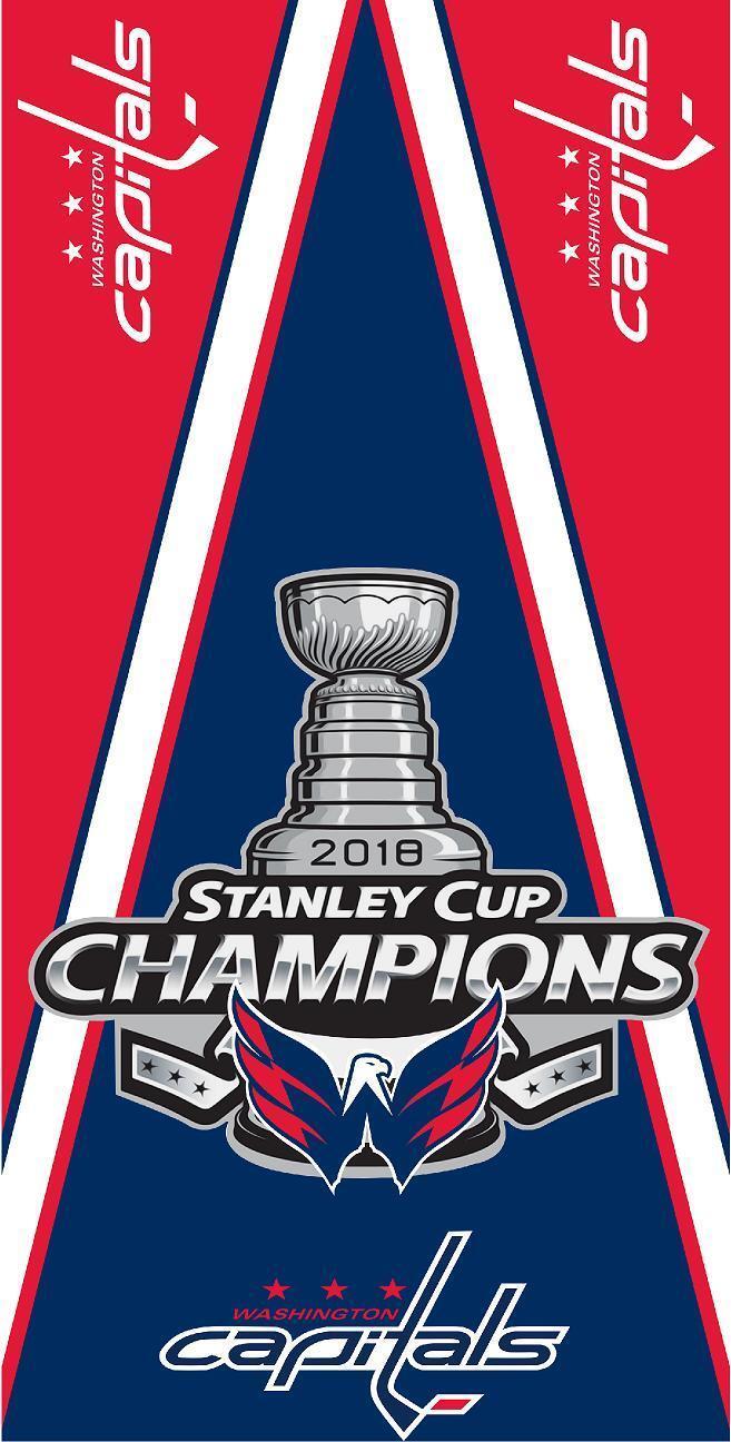 Washington Capitals 2018 Stanley Cup Cornhole Board Printed 3M Vinyl Wrap Set