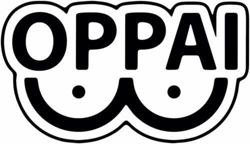 Oppai Anime Decal Sticker for Car//Truck//Laptop One Punch Man