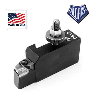 Aloris Universal Tool Holder # AXA-12 For Turning with Triangular Carbide Insert