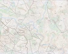 ZULU WAR - RORKE'S DRIFT 1879 - ORDNANCE SURVEY MAP No 2